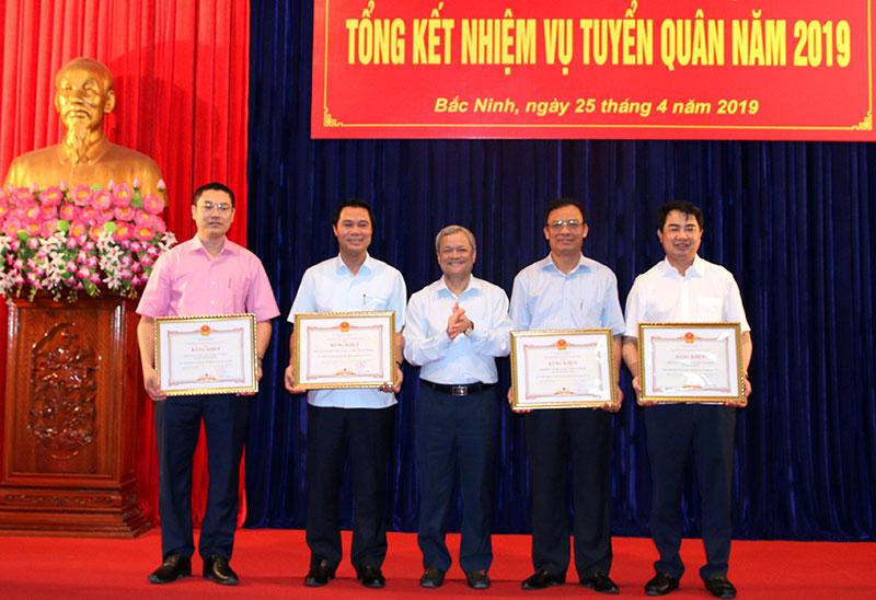 Bắc Ninh tổng kết nhiệm vụ tuyển quân năm 2019
