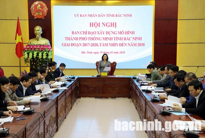 Hội nghị Ban Chỉ đạo xây dựng mô hình thành phố thông minh tỉnh Bắc Ninh