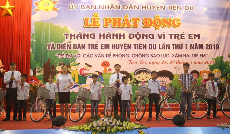 Bắc Ninh: Hành động vì trẻ em hoàn cảnh đặc biệt