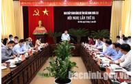 Ban Thường vụ Tỉnh ủy Bắc Ninh rút kinh nghiệm về công tác tổ chức Đại hội điểm cấp cơ sở
