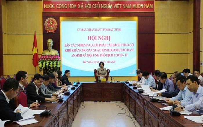 Chính quyền tỉnh Bắc Ninh nỗ lực tìm giải pháp hỗ trợ doanh nghiệp
