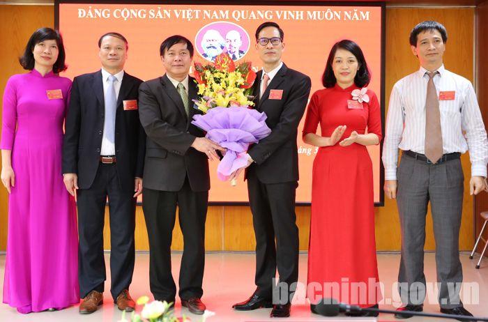 Bắc Ninh: Chi bộ Ban Quản lý an toàn thực phẩm tổ chức Đại hội lần thứ II, nhiệm kỳ 2020-2025