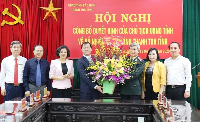 Bổ nhiệm Phó Chánh Thanh tra tỉnh Bắc Ninh