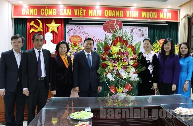 Lãnh đạo tỉnh Bắc Ninh chúc mừng Hội LHPN tỉnh nhân Ngày Quốc tế Phụ nữ