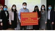 Nhiều tổ chức, cá nhân ủng hộ công tác phòng, chống dịch Covid-19