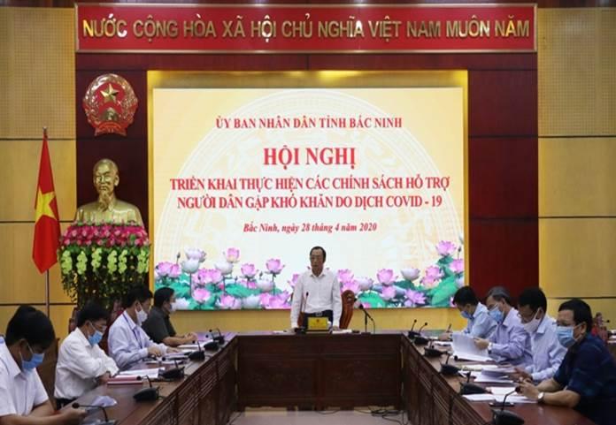 Triển khai chính sách hỗ trợ người dân gặp khó khăn do dịch COVID-19