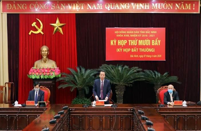 Tổ chức Kỳ họp thứ Mười bẩy, HĐND tỉnh khóa XVIII theo hình thức trực tuyến