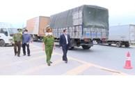 Phó Chủ tịch UBND tỉnh Bắc Ninh kiểm tra một số chốt phòng, chống dịch COVID-19