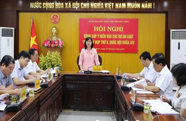 Lấy ý kiến đóng góp vào 3 Dự án Luật trình kỳ họp thứ Chín, Quốc hội khóa XIV