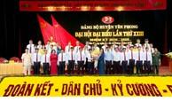 Xây dựng Yên Phong trở thành thị xã ổn định, phát triển, mạnh giàu
