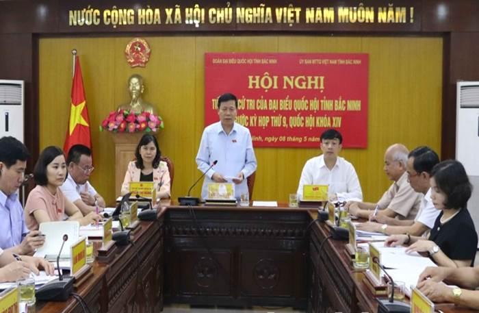 Tiếp xúc cử tri trước Kỳ họp thứ 9, Quốc hội khóa XIV