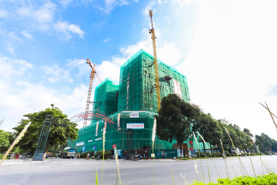 Tập đoàn Dabaco cất nóc dự án cao cấp Lotus Central