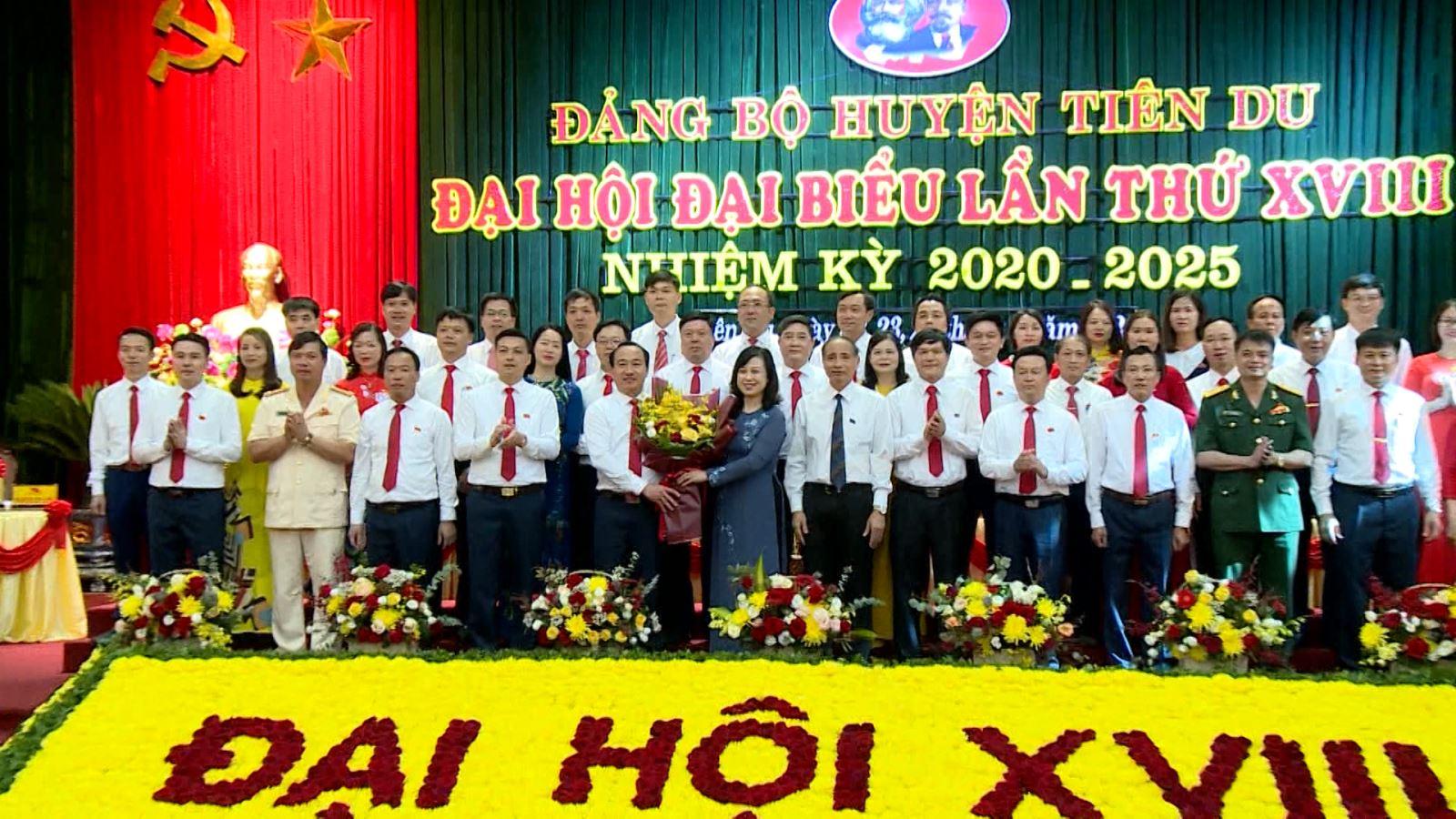 Đại hội đại biểu Đảng bộ huyện Tiên Du lần thứ XVIII, nhiệm kỳ 2020 – 2025