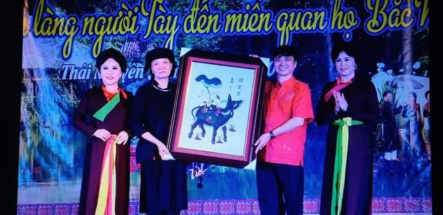 """Giao lưu văn nghệ """"Từ câu Then bản làng đến miền quan họ Bắc Ninh"""""""