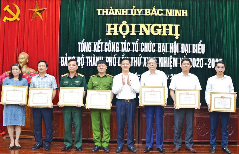 Thành ủy Bắc Ninh tổng kết công tác tổ chức Đại hội lần thứ XII