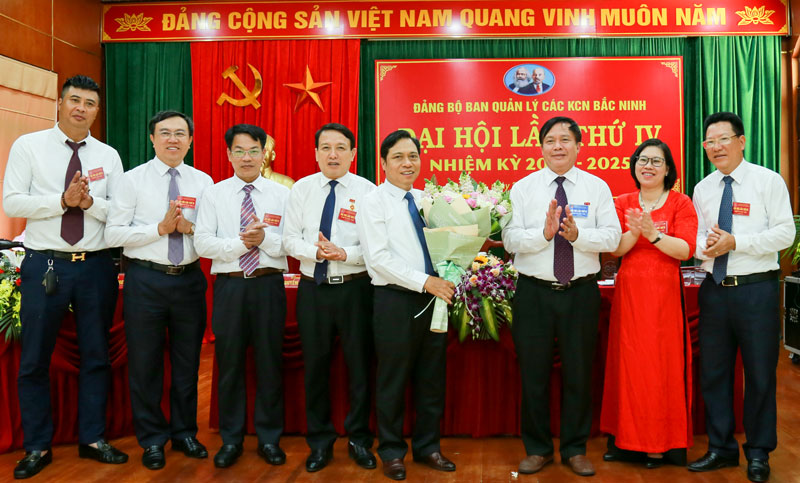 Đại hội Đảng bộ Ban Quản lý các Khu Công nghiệp tỉnh thành công tốt đẹp