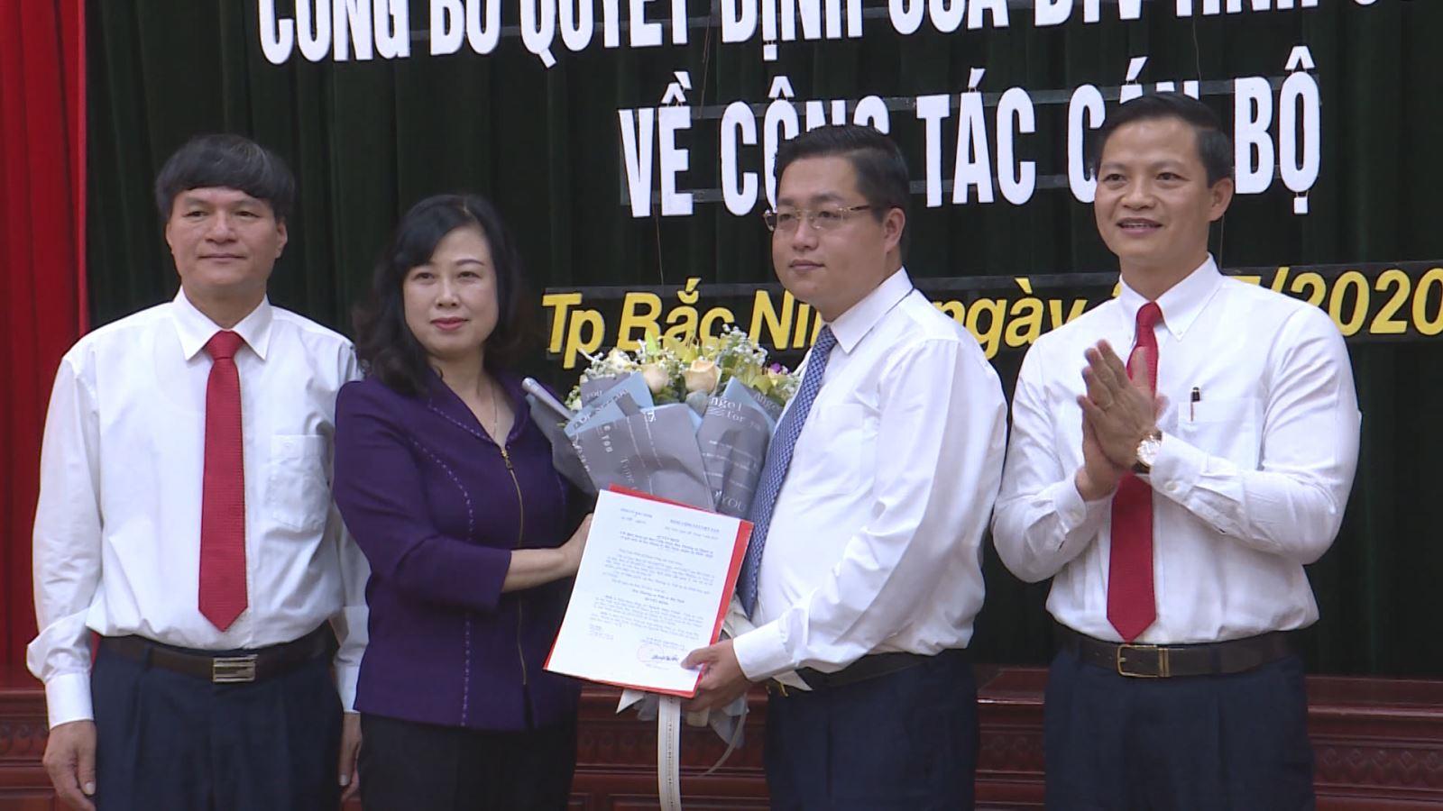 Đồng chí Nguyễn Nhân Chinh giữ chức Bí thư Thành ủy Bắc Ninh