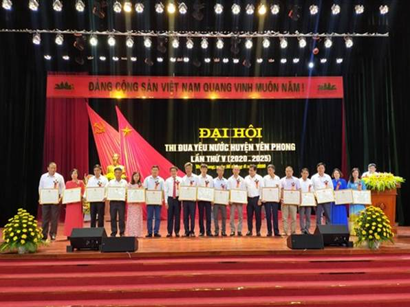 Đại hội thi đua yêu nước huyện Yên Phong lần thứ V, giai đoạn 2020 -2025