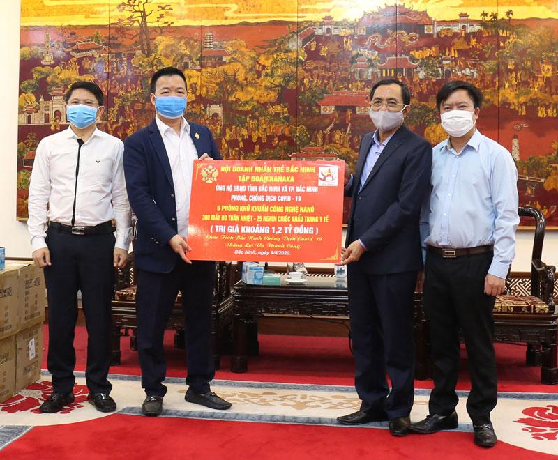 Doanh nhân trẻ Bắc Ninh tiến công trên mặt trận kinh tế, chống suy thoái kinh tế