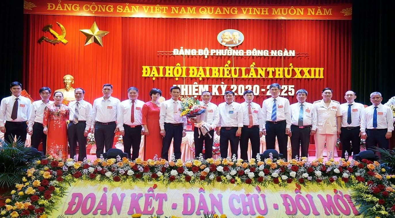 Đại hội Đảng bộ phường Đông Ngàn lần thứ XXIII