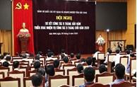 Đảng ủy Khối các cơ quan và doanh nghiệp tỉnh sơ kết công tác xây dựng Đảng 6 tháng đầu năm