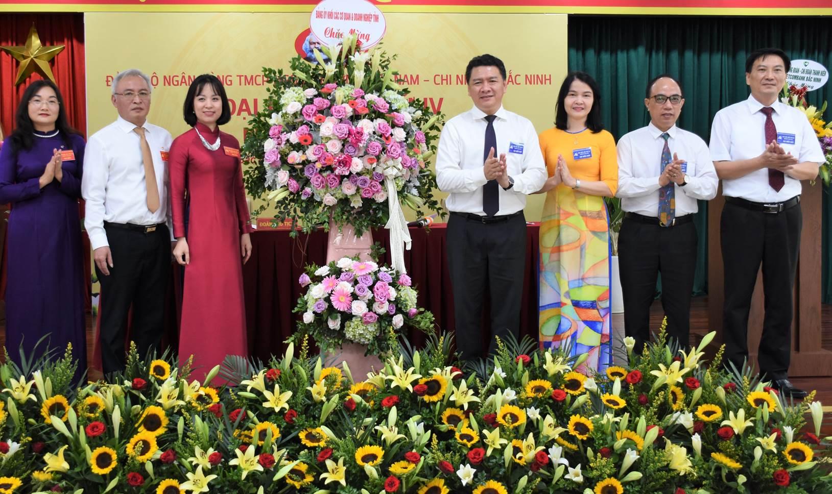 Đại hội Đảng bộ Ngân hàng Vietcombank Bắc Ninh nhiệm kỳ 2020-2025       XB: 01/6