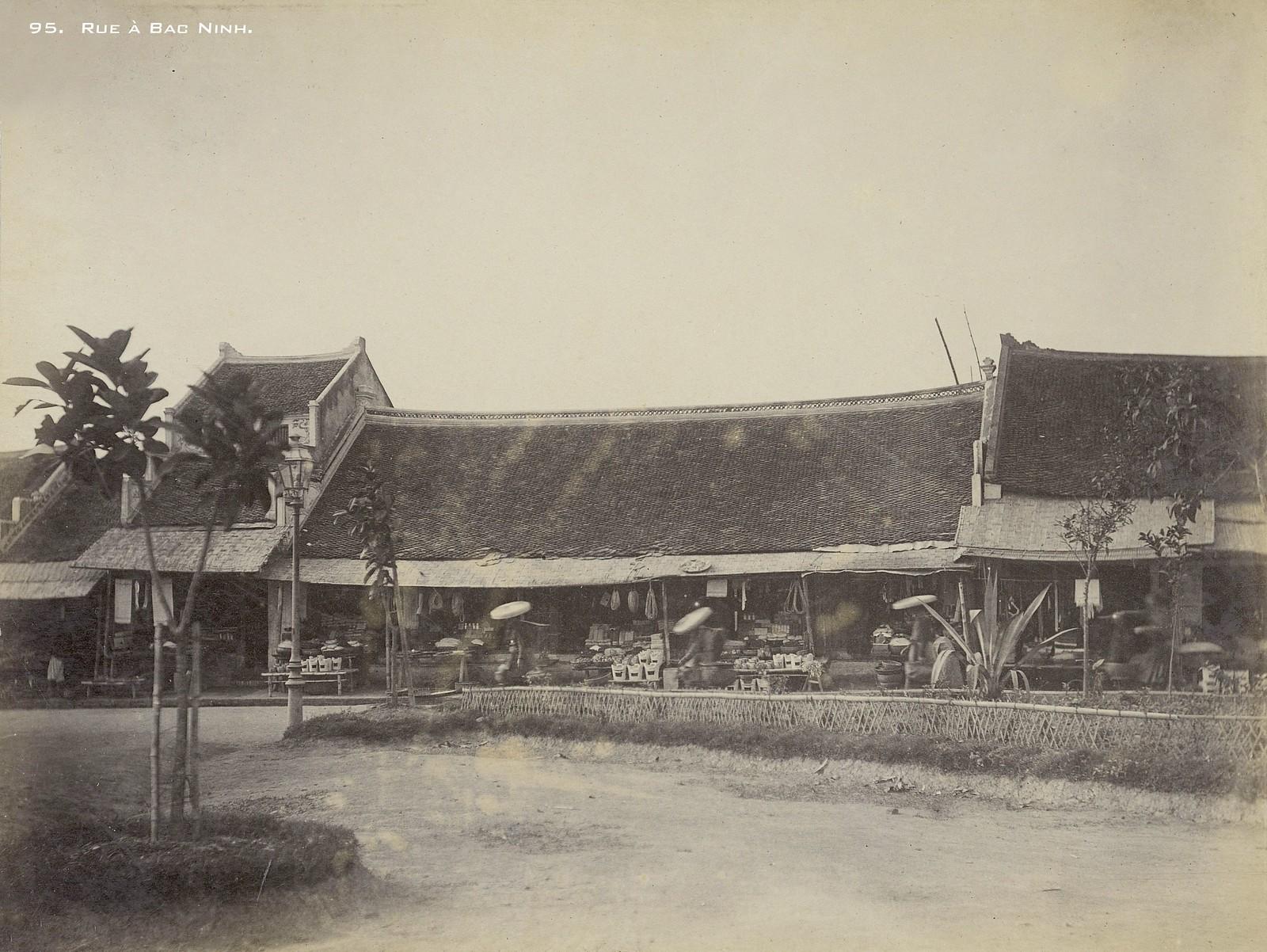 Ảnh cực hiếm về quê hương quan họ năm 1899