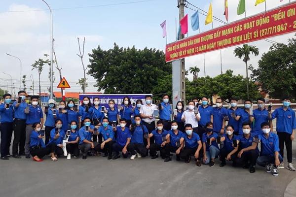 Tuổi trẻ Bắc Ninh chung tay thắng nhanh COVID-19
