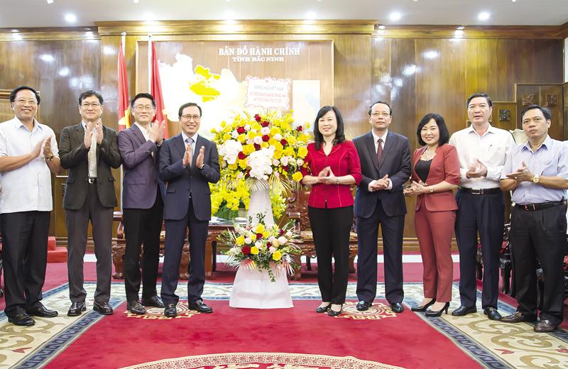 Bắc Ninh tiếp tục tạo mọi điều kiện thuận lợi cho doanh nghiệp Hàn Quốc và Nhật Bản