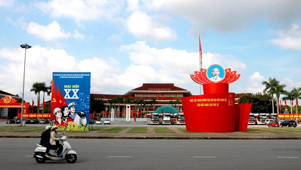 Rực rỡ sắc màu chào mừng Đại hội đại biểu Đảng bộ tỉnh lần thứ XX