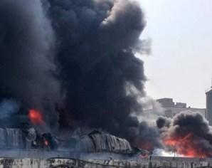 Tiên Du: Cháy xưởng tái chế giấy, ít nhất 1 người tử vong