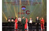 Báo Bắc Ninh đoạt giải C, giải báo chí Vì sự nghiệp đại đoàn kết toàn dân tộc lần thứ XIV