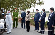 Chủ tịch UBND tỉnh kiểm tra công tác phòng, chống dịch COVID-19 tại Lương Tài
