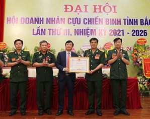Đại hội Hội doanh nhân Cựu chiến binh tỉnh lần thứ III