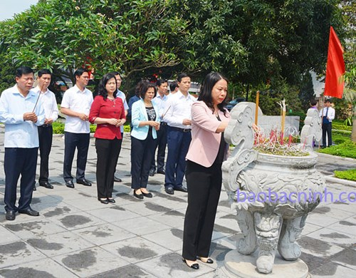 """Bắc Ninh có bề dày truyền thống lịch sử, văn hiến của mảnh đất """"địa linh, nhân kiệt"""""""