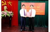 Chi cục trưởng Chi cục Thủy sản được bổ nhiệm Phó Giám đốc Sở Nông nghiệp và Phát triển nông thôn