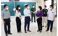Kiểm tra công tác phòng, chống dịch tại huyện Yên Phong