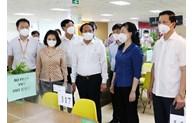 Phó Thủ tướng Chính phủ Lê Văn Thành kiểm tra công tác phòng, chống dịch tại Bắc Ninh