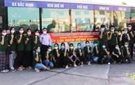Sinh viên ngành Y tình nguyện về Bắc Ninh hỗ trợ phòng, chống dịch