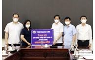 Tỉnh Lạng Sơn hỗ trợ tỉnh Bắc Ninh trong phòng, chống dịch COVID-19