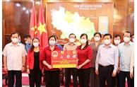 Trưởng Ban Dân vận Trung ương thăm, động viên công tác phòng, chống dịch tại Bắc Ninh