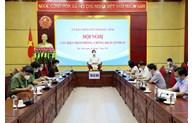 Hội nghị triển khai các biện pháp phòng, chống dịch COVID-19 trong tình hình mới
