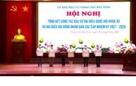 Thành phố Bắc Ninh tổng kết bầu cử