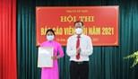 Hội thi Báo cáo viên giỏi thị xã Từ Sơn năm 2021