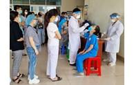 Gần 500 cán bộ y tế hỗ trợ thành phố Hà Nội phòng, chống dịch