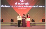 Hà Nội giành giải Nhất tại Hội diễn các cơ sở Giáo dục nghề nghiệp toàn quốc năm 2019