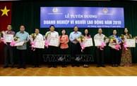 An Giang tuyên dương 20 doanh nghiệp vì người lao động