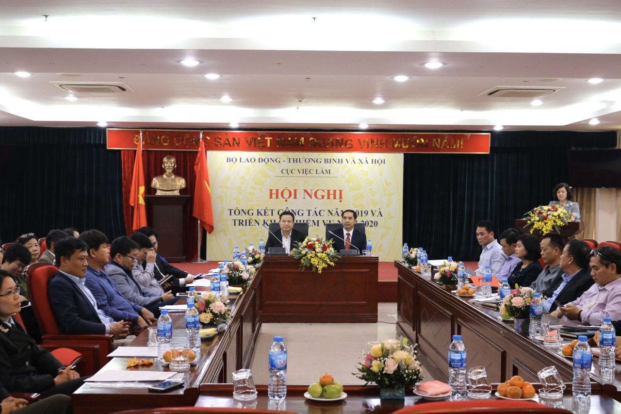 Cục Việc làm tổ chức Hội nghị Tổng kết công tác năm 2019 và triển khai nhiệm vụ năm 2020
