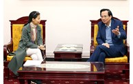 Bộ trưởng Đào Ngọc Dung trao đổi với Grab tại Việt Nam về vấn đề lao động và công nghệ số
