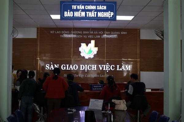 """Quảng Bình phát huy hiệu quả từ """"Sàn giao dịch việc làm"""""""